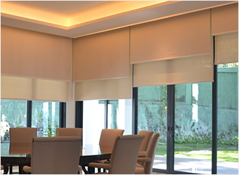 Motorized Roller Blinds (Autoline)